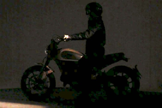 Bologna Confirms 2015 Ducati Scrambler 2015 Ducati Scrambler video 02 635x423