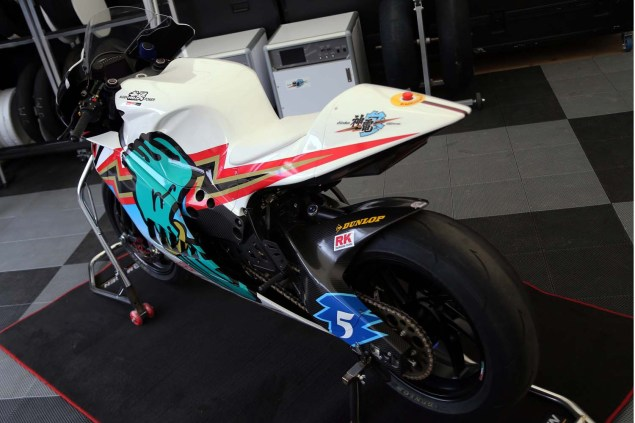 Up Close with the 2014 Mugen Shinden San (神電 参) Mugen Shinden San TT Zero Isle of Man TT Richard Mushet 21 635x423