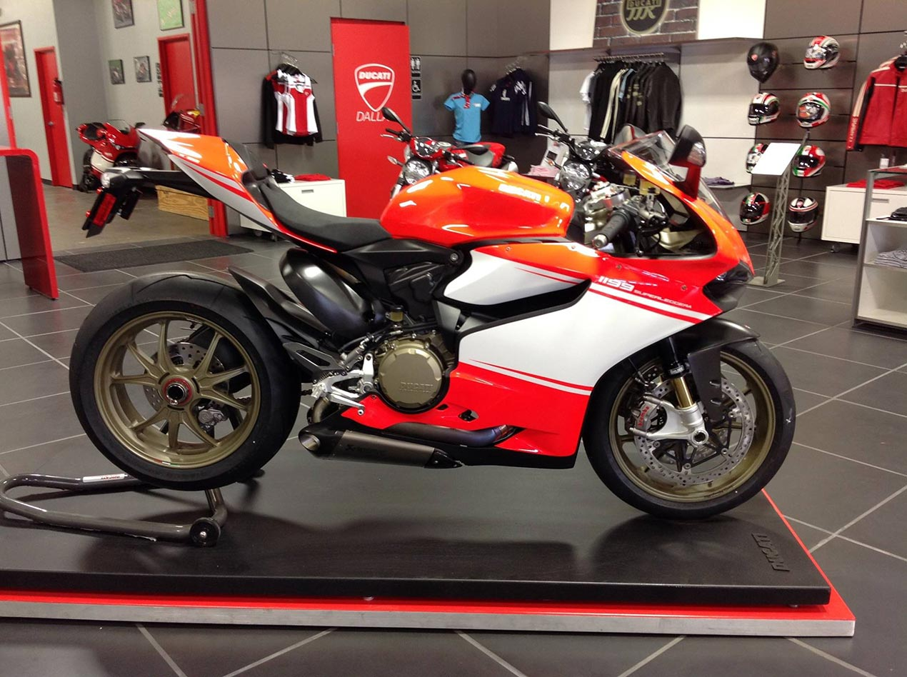 Ducati Superleggera Wheels
