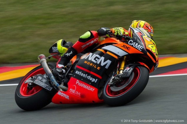 Friday Summary at Sachsenring: Marquezs Big Crash, Some Fast Yamahas, & Fixing Turn 11 Again Friday Sachsenring German GP MotoGP Tony Goldsmith 05 635x422