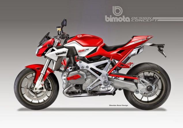 Bimota BB4 Concepts by Oberdan Bezzi Oberdan Bezzi Design Bimota BB4RR Streetfighter Concept 635x445