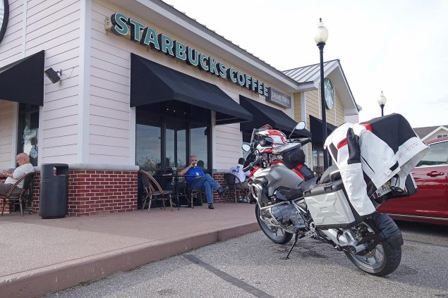 The 5 Most Dangerous Motorcycles in America? adventure touring starbucks advrider 635x423