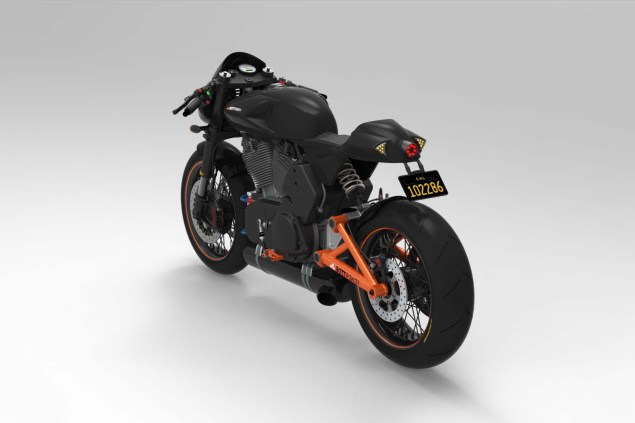 More Renders of the Bottpower BOTT XC1 Café Racer Bottpower BOTT XC1 Version 3 Cafe Racer 04 635x423