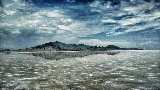 Bonneville Speed Week Cancelled on Account of Rain bonneville salt flats water SCTA 635x357