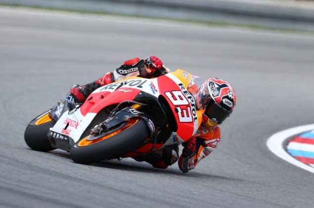MotoGP: Qualifying Results from Brno marc marquez brno motogp hrc 635x421