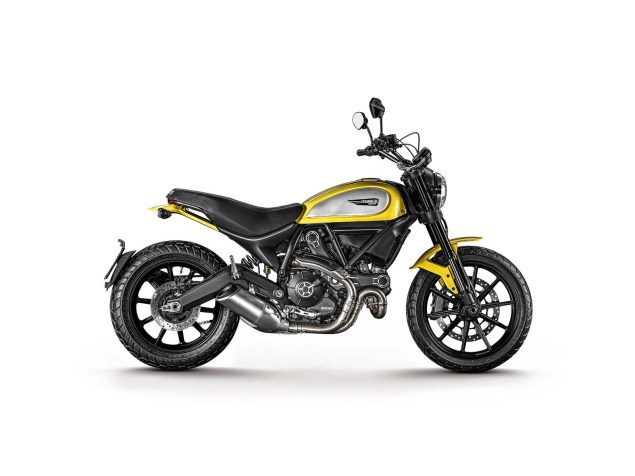 Ducati Scrambler   For New Riders, Off Roaders, & Hipsters 2015 Ducati Scrambler Icon 17 635x476
