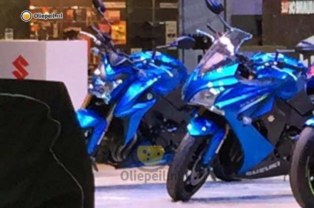 Suzuki GSX S1000 Coming with a Full Fairing Too? 2015 Suzuki GSX S1000 GSR1000 02 635x421