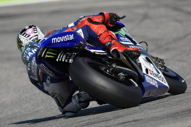 Saturday Summary at Misano: The Prospect of a Rossi Win, & Mika Kallio, The Forgotten Man jorge lorenzo motogp misano movistar yamaha 635x423