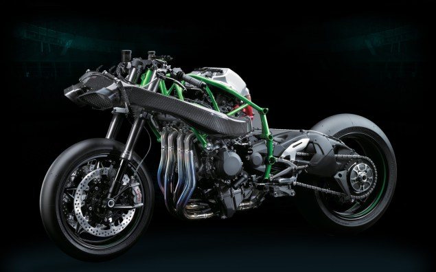 Kawasaki Ninja H2R   Officially 300hp of Hyperbike kawasaki ninja h2r 25 635x396