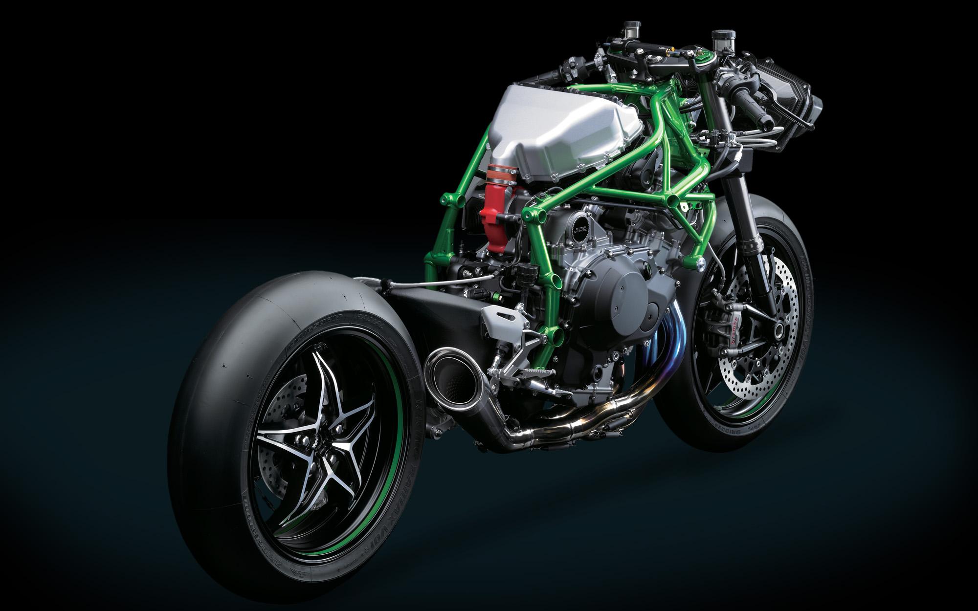 Omg Leaked Hi Res Photos Of The Kawasaki Ninja H2r
