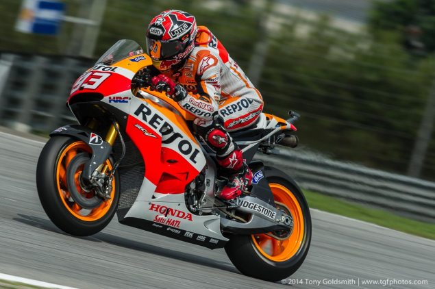 MotoGP: Race Results from Sepang Marc Marquez Sunday Sepang MotoGP Malaysian Grand Prix Tony Goldsmith 1 635x422