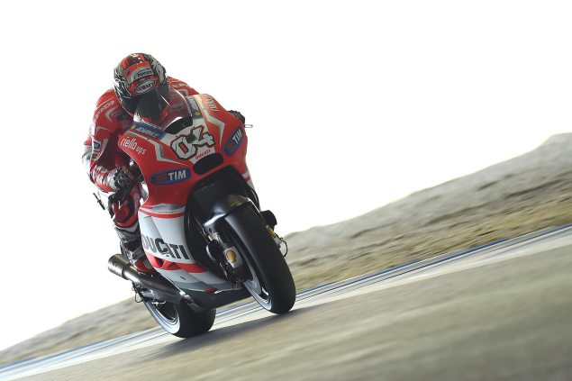 Saturday Summary at Motegi: Will Doviziosos Pole See Ducatis Tire Advantage Removed? andrea dovizioso motogp saturday ducati corse 635x423