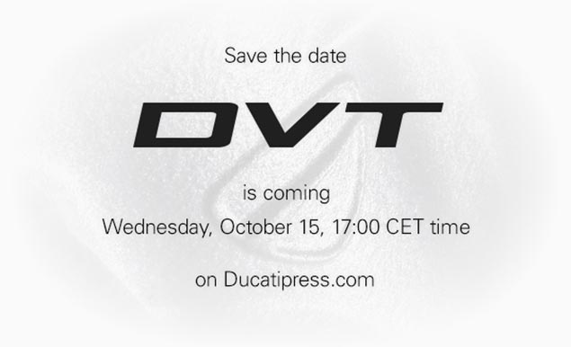 DVT Ducati Valve Timing Announcement Coming Soon dvt ducati valve timing teaser