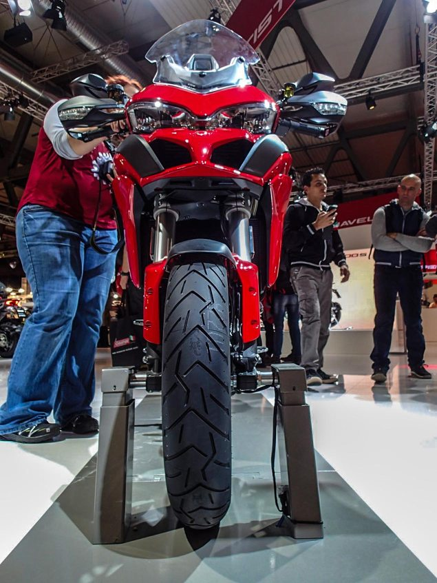 Up Close with the 2015 Ducati Multistrada 1200 2015 Ducati Multistrada 1200 EICMA Rob Harris 1 635x846