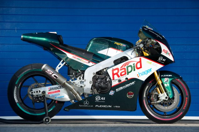 Buy a MotoGP Bike, Just in Time for Christmas PBM Aprilia MotoGP Paul Bird Motorsport 635x422