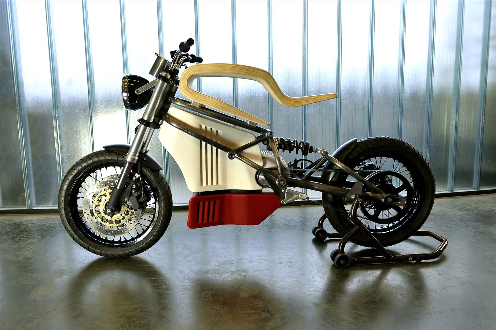 E Raw Electric Motorcycle Concept By Expemotion Asphalt