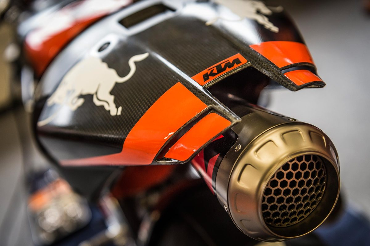 KTM RC16 Will Make Its Public Debut at the Austrian GP