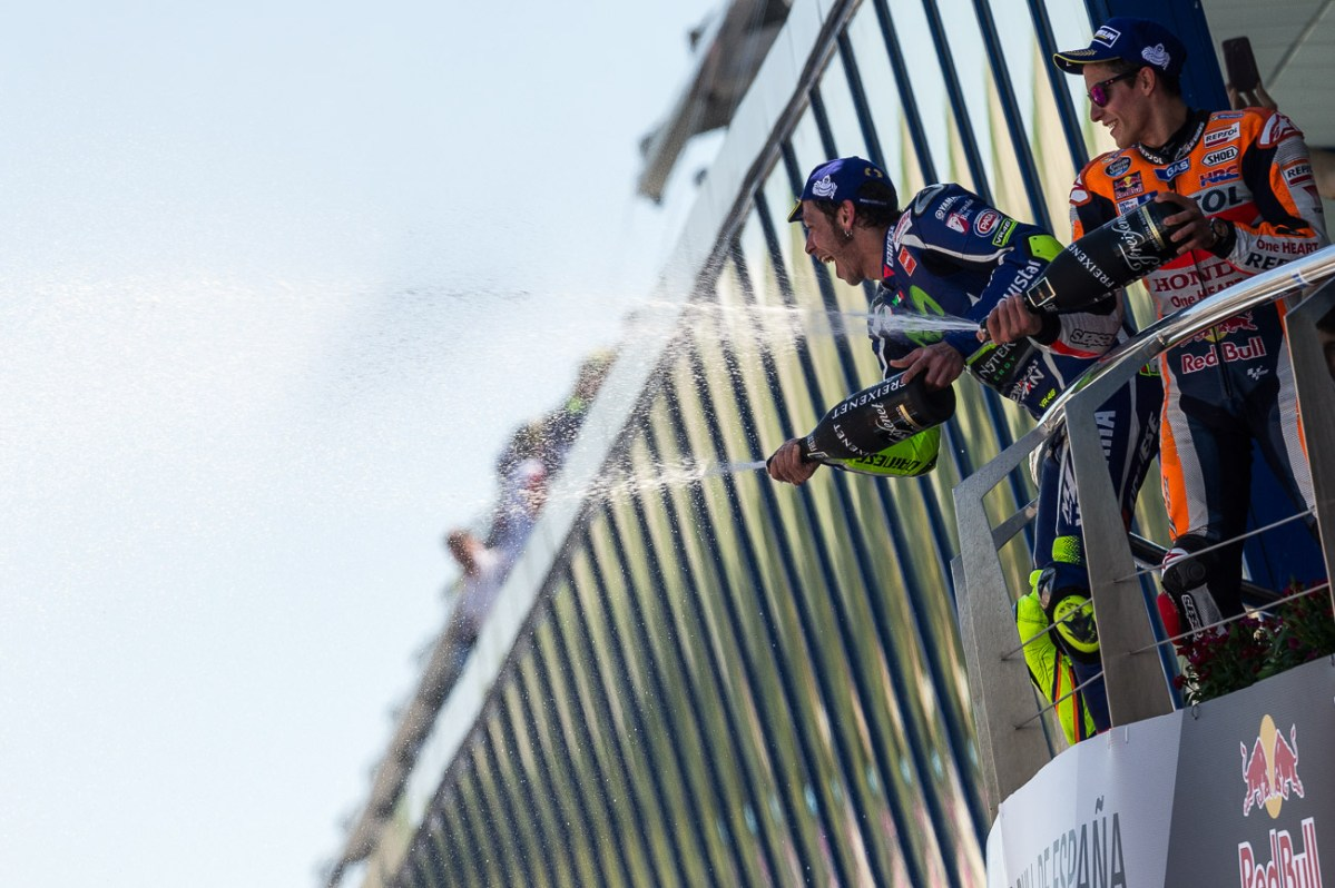Sunday MotoGP Summary at Jerez: Of Genius Young & Old...and Tire Trouble