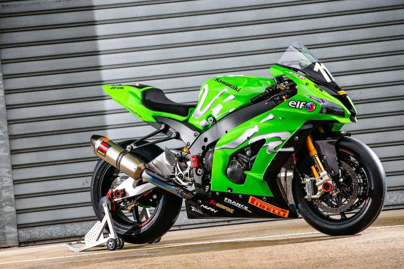 Team Kawasaki Src Ninja Zx 10r World Race Bike