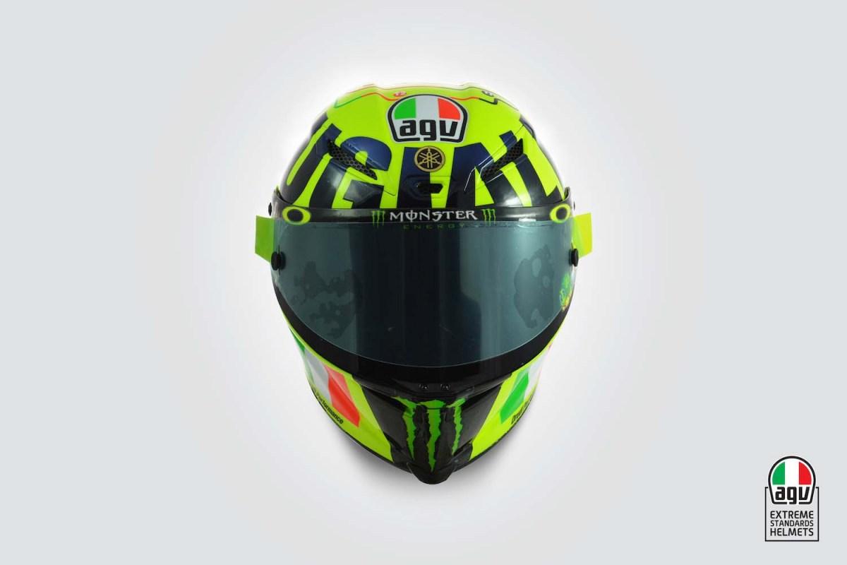 Valentino Rossi's 2016 Mugello AGV Helmet