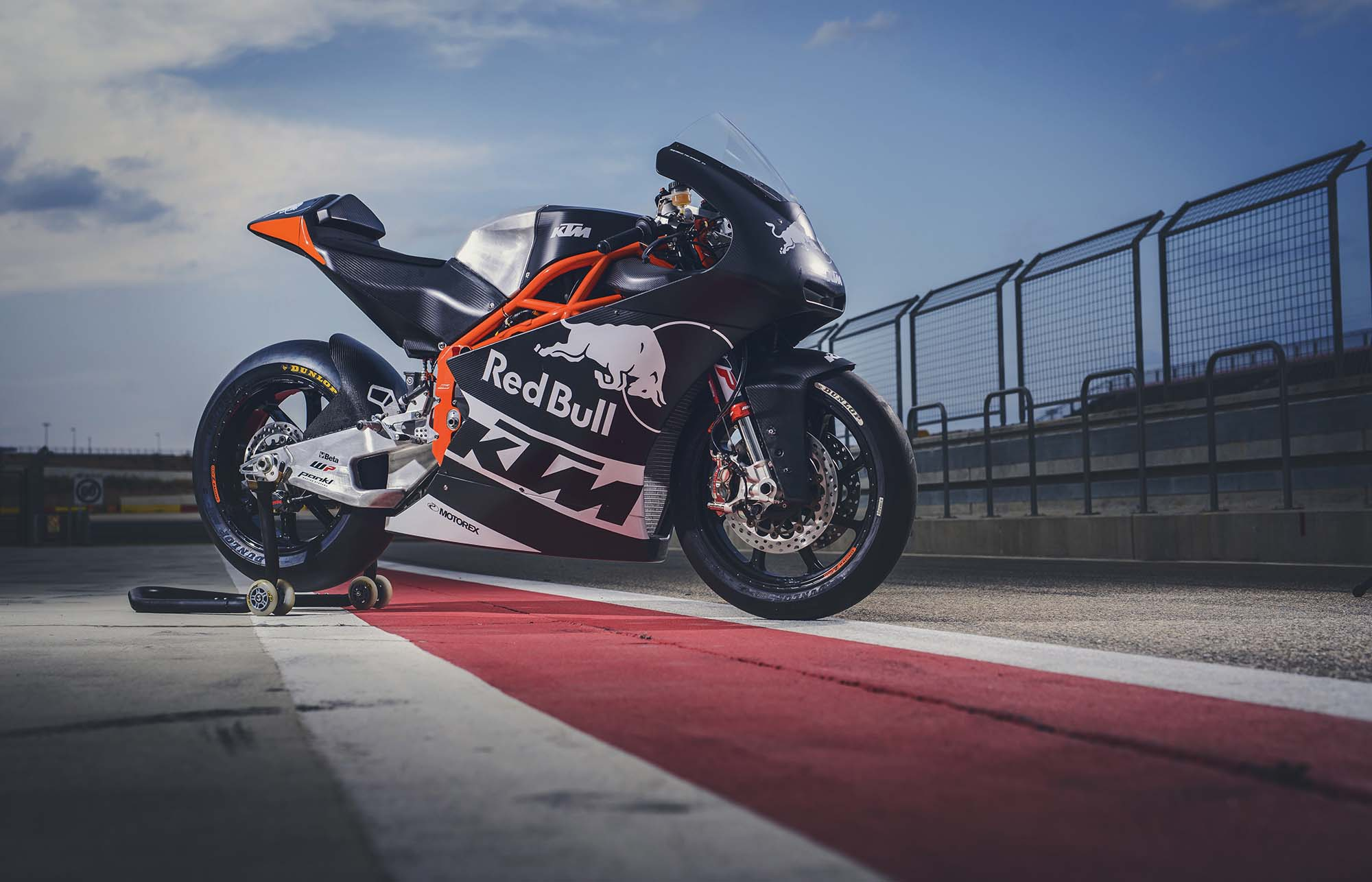 More of the Sexiness That Is the KTM Moto2 Race Bike Race Bike Photos