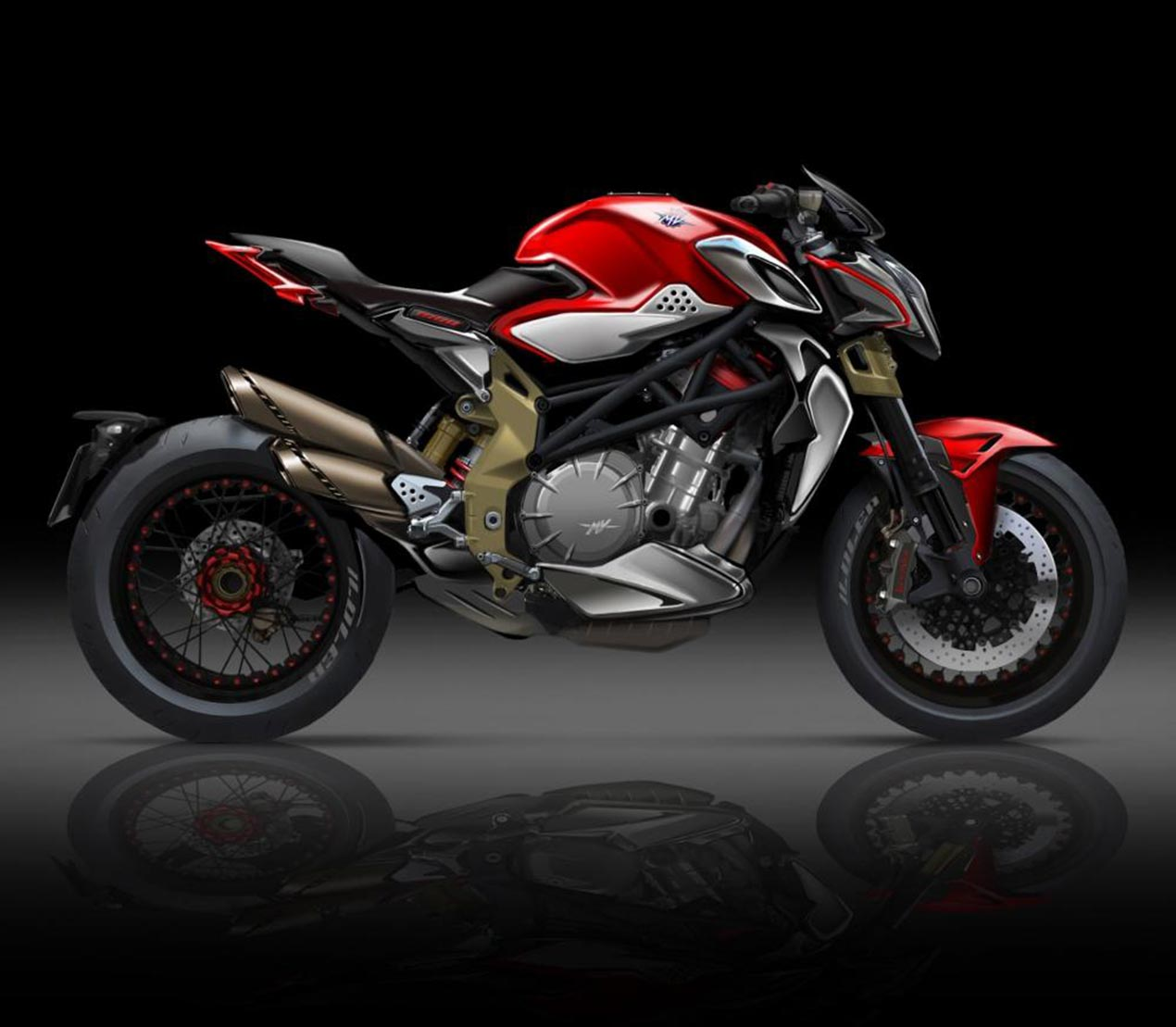 New four cylinder mv agusta brutale debuting at eicma