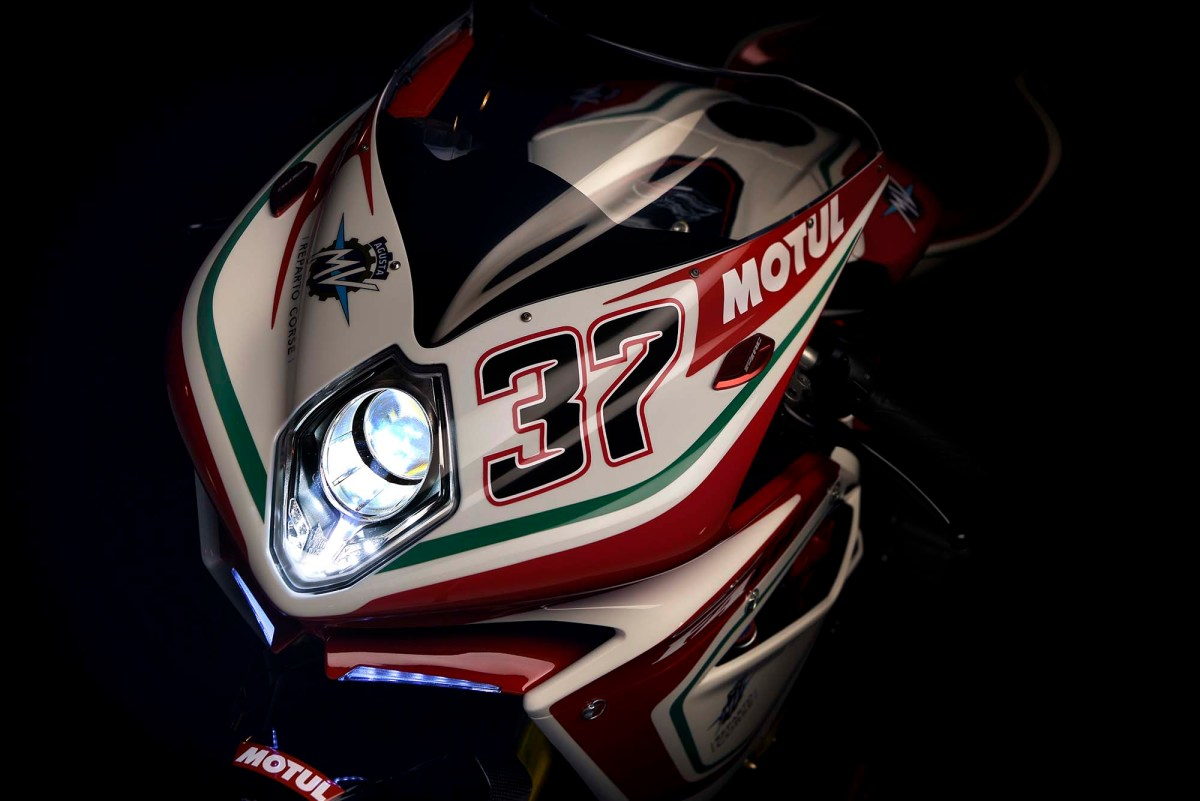 Here Are Some Photos of the 2017 MV Agusta F4 RC