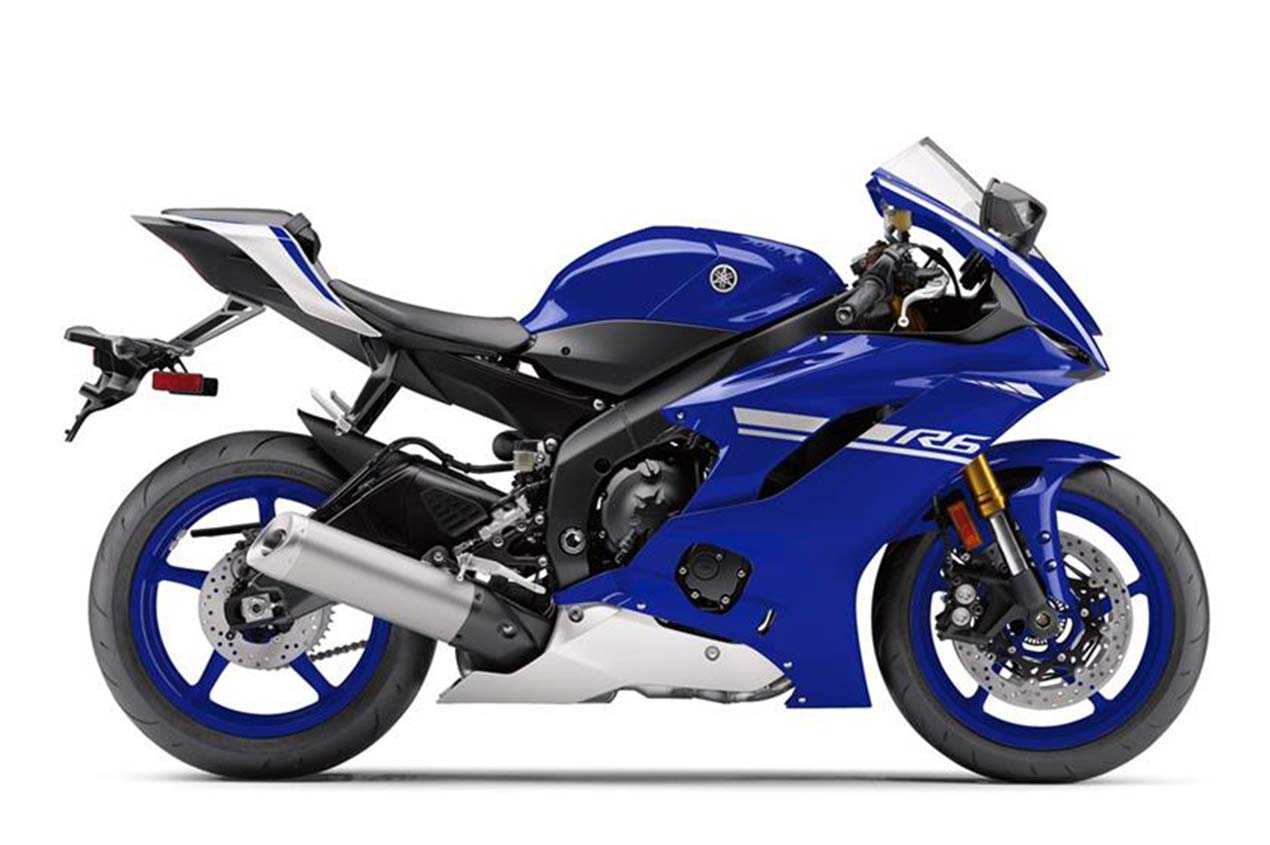 2017 yamaha yzf r6 gets abs traction control more. Black Bedroom Furniture Sets. Home Design Ideas