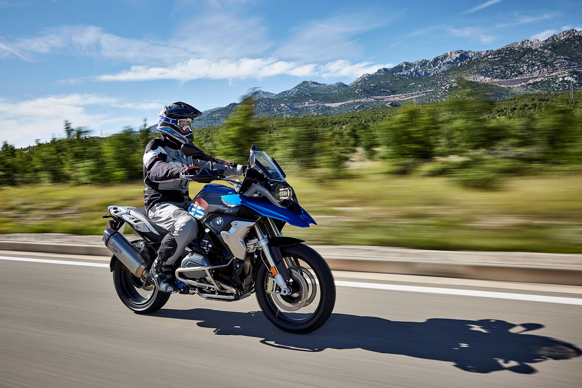 2017 Bmw R1200gs Gets Upgrades And A Little Rallye