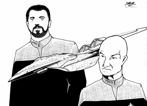 Beardy and Baldy