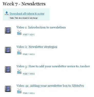 AffiloBlueprint profitable newsletter training