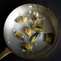Baby Artichokes: Pan to Plate Goodness