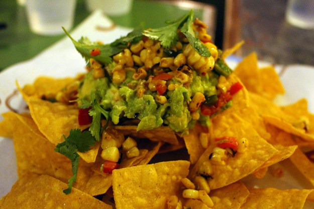 vegan nachos and guacamole c casa napa