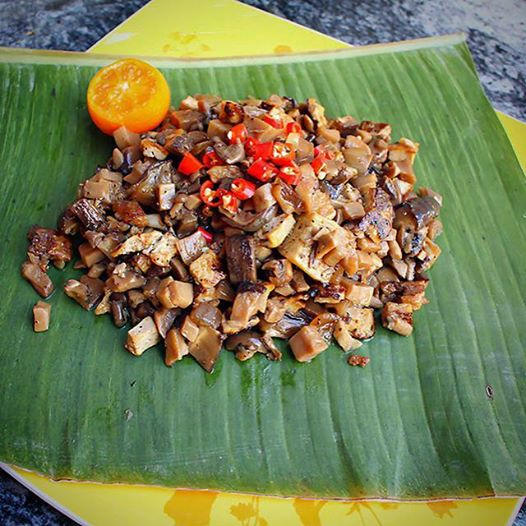Minced Mushroom and Tofu Sisig. One of the dishes I featured on the tv show, Adobo Nation (Filipino cable station, TFC). Airing March 8.