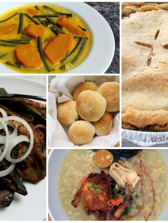 thanksiving vegan filipino dishes copy