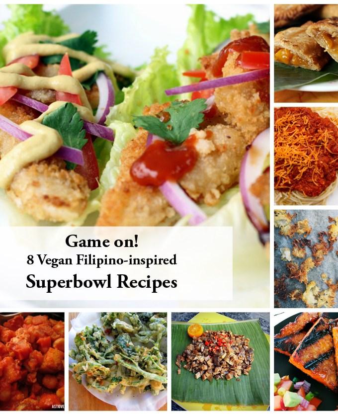 game on 8 astig vegan superbowl recipes