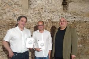 Arsenio Garcia, Manuel Jesús Álvarez y Rafael García presentaron el número 34 de la Revista Astorica. / CCU