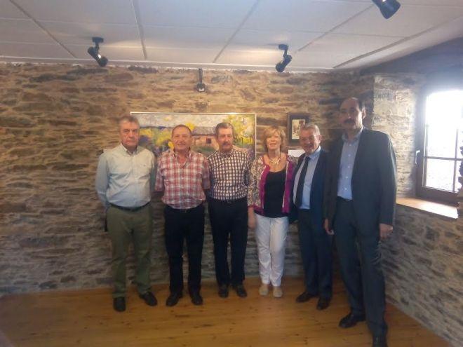 Este miércoles 10 de agosto se llevó a cabo la inauguración de la exposición en homenaje al relojero Losada en Iruela.