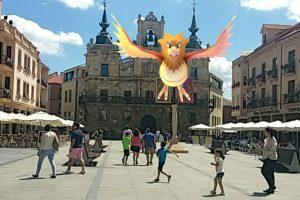 Imágen realizada a través del juego para Android 'Pokémon Go'. SERGIO GONZÁLEZ