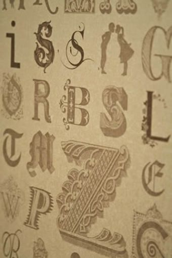Typecast in Vintage Gold
