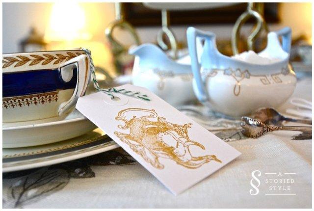 teapot gift tag