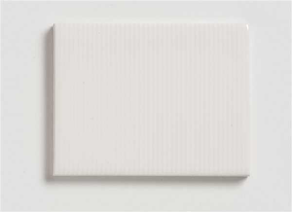 White Pinstripe Textured Tile - Mission Stone & Tile