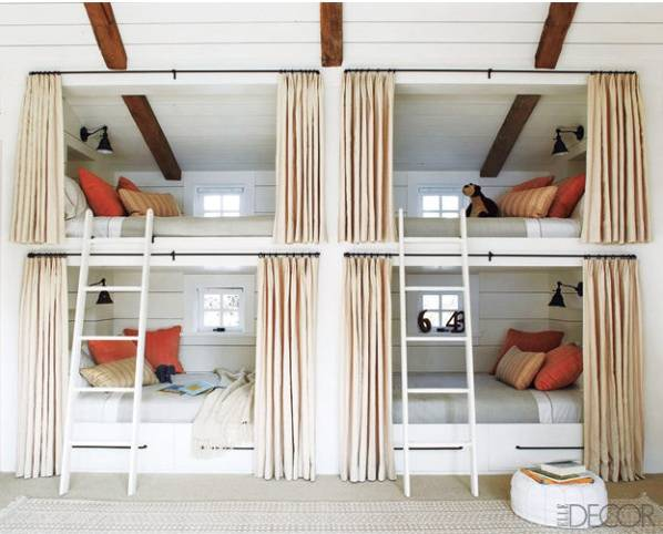 bunk room - elle decor