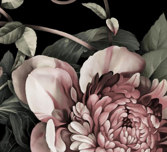 ellie cashman dark floral