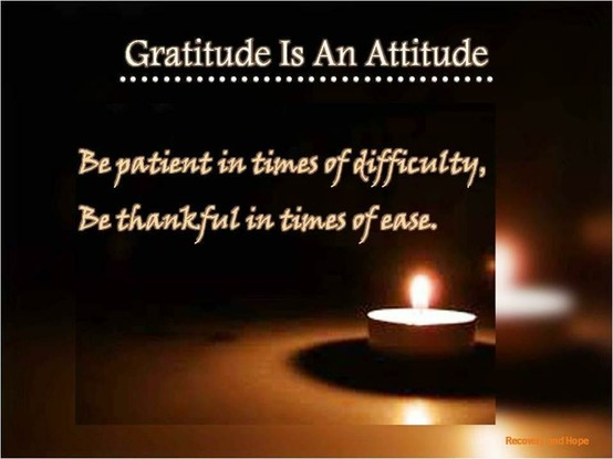 Insight: my heart-felt gratitude