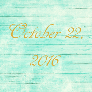 Astrology of Today – October 22, 2016