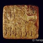 Seal of Pipal tree at Mohenjodaro