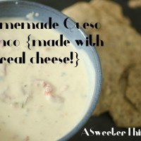 Queso Blanco {Made With Real Cheese!}