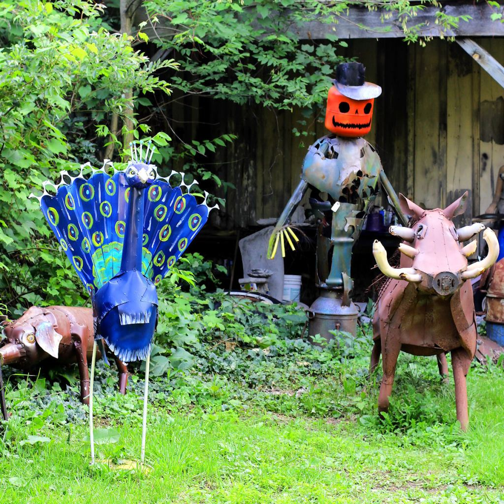 Frog Pond Studio Farm Mulitple Sculptures