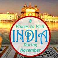 8 Places to Visit in India During November